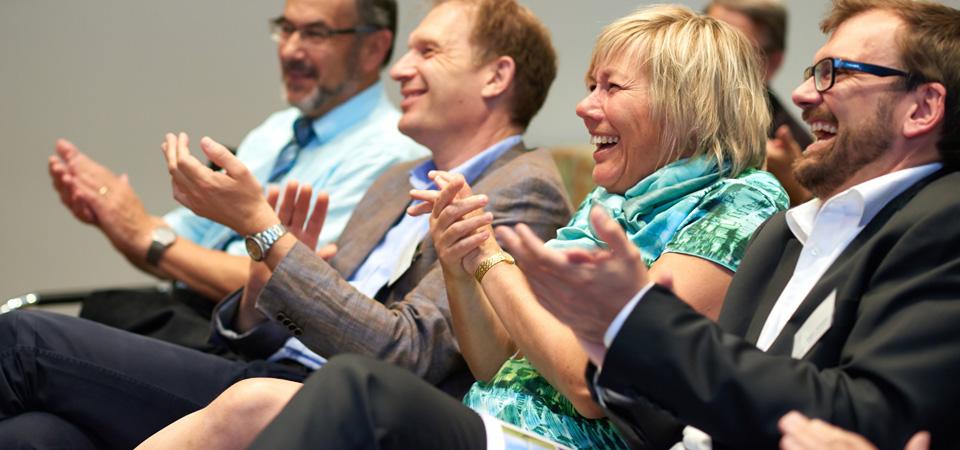 Nachhaltigkeitstag an der Hochschule Esslingen. Bild: Klaus Wolter c/o WindForS / www.klauswolter.de