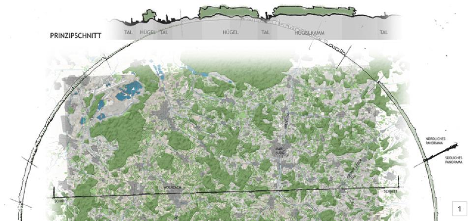 Analyse der Landschaftstrukturen Hallertau, Abb. Sabine Kern