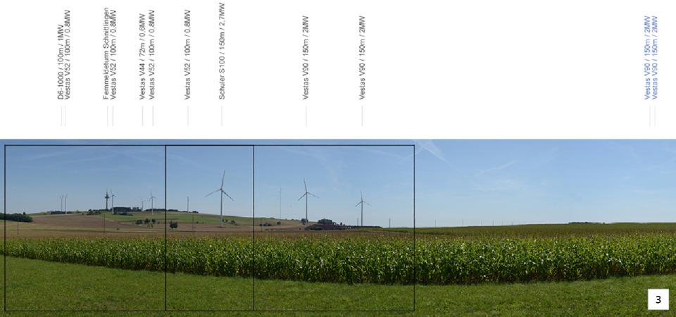 Standortvisualisierungen zur Testfeldkonfiguration I Fokusbereiche Bestand und Neuplanung, Abb.: LAREG