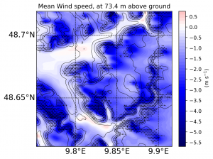 The importance of forest drag for wind power applications in complex terrain